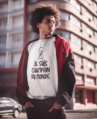 Tee-shirt Homme Je suis Champion du Monde