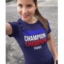 Tee-shirt France Champion