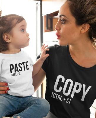 Tee-shirt Copy - Paste [Parent / Enfant]