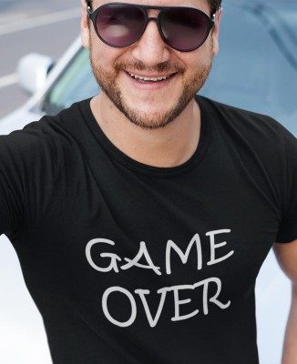 "T-shirt humour geek ""Game Over"""
