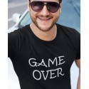 """T-shirt humour geek """"Game Over"""""""