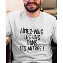 Tee-shirt Aimez-vous les uns dans les autres