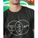 T-shirt Cambrioleurs de banque vs Dj's