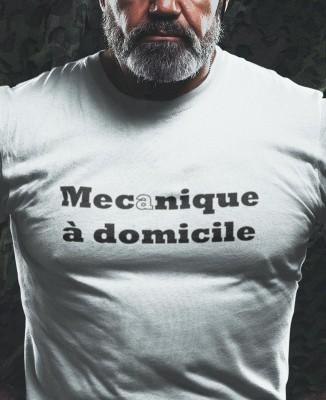 T-shirt Mecanique à domicile