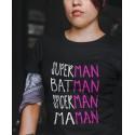 T-shirt Maman Super-héros