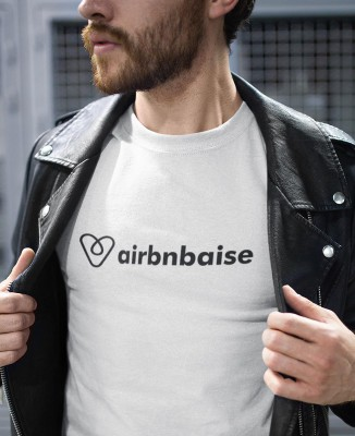 T-shirt Homme Airbnbaise