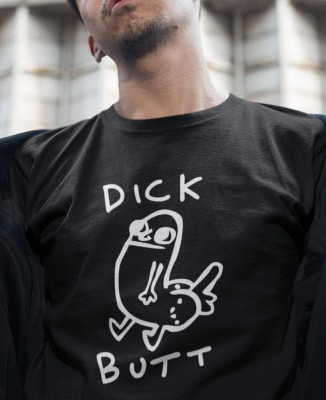 T-shirt Homme Dick Butt