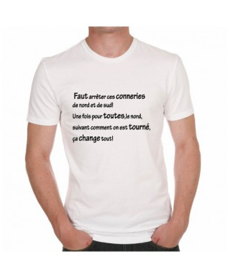 T-shirt Conneries Nord et Sud