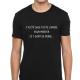 T-shirt J'ai été sage toute l'année pour mériter ce t-shirt de merde....